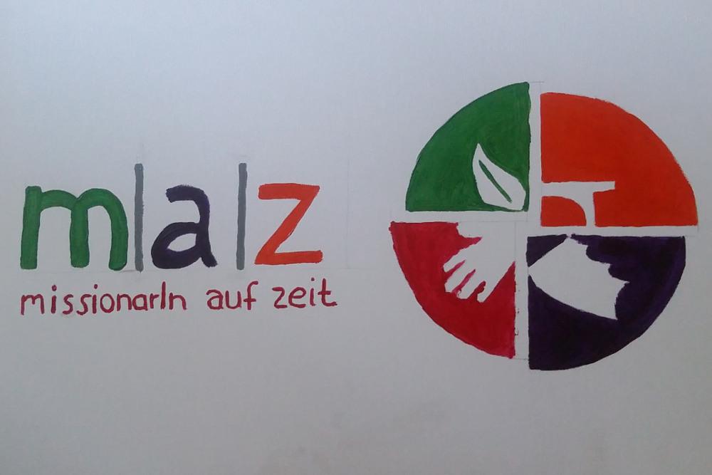 MaZ-Logo von den MaZ selbst gemalt