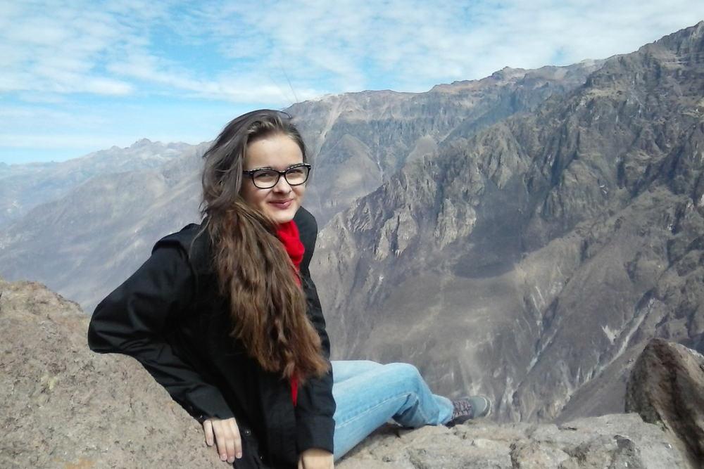 Missionarin auf Zeit Anna Schönstedt in Arequipa, Peru, 2014-15