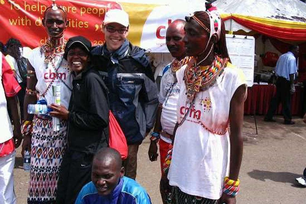 Missionar auf Zeit Armin Maier, Kenia