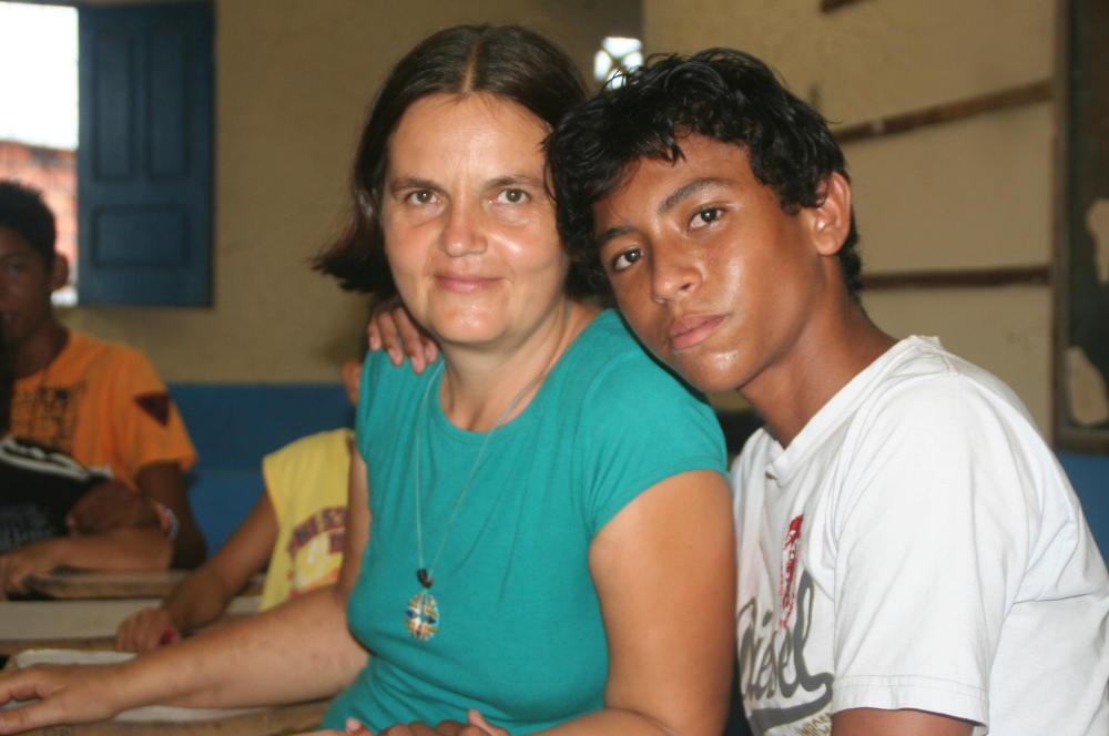 Barbara Ludewig in Brasilien