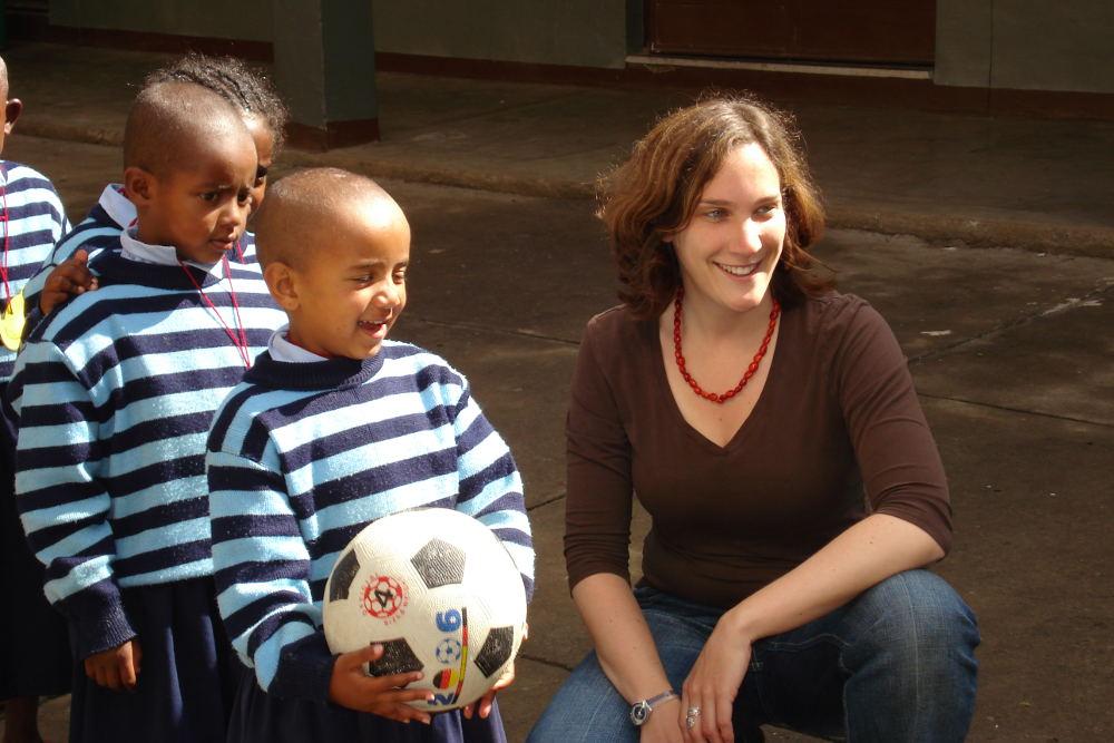 Missionarin auf Zeit Christine Hügler, Äthiopien