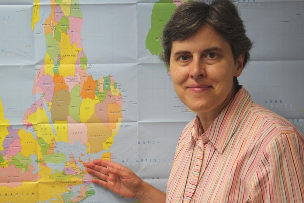 Comboni-Missionsschwester Gertrud Höggerl