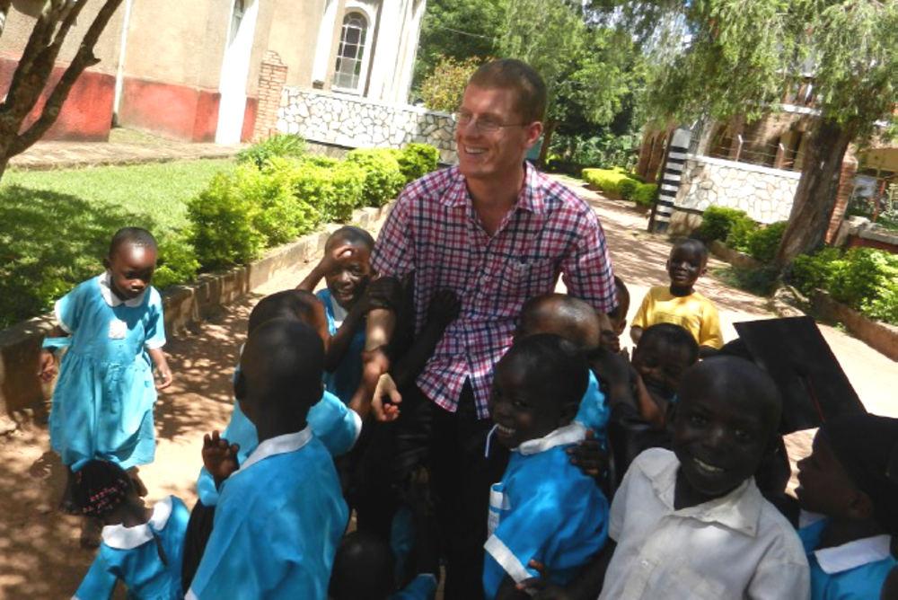 Missionar auf Zeit Mathias Blum
