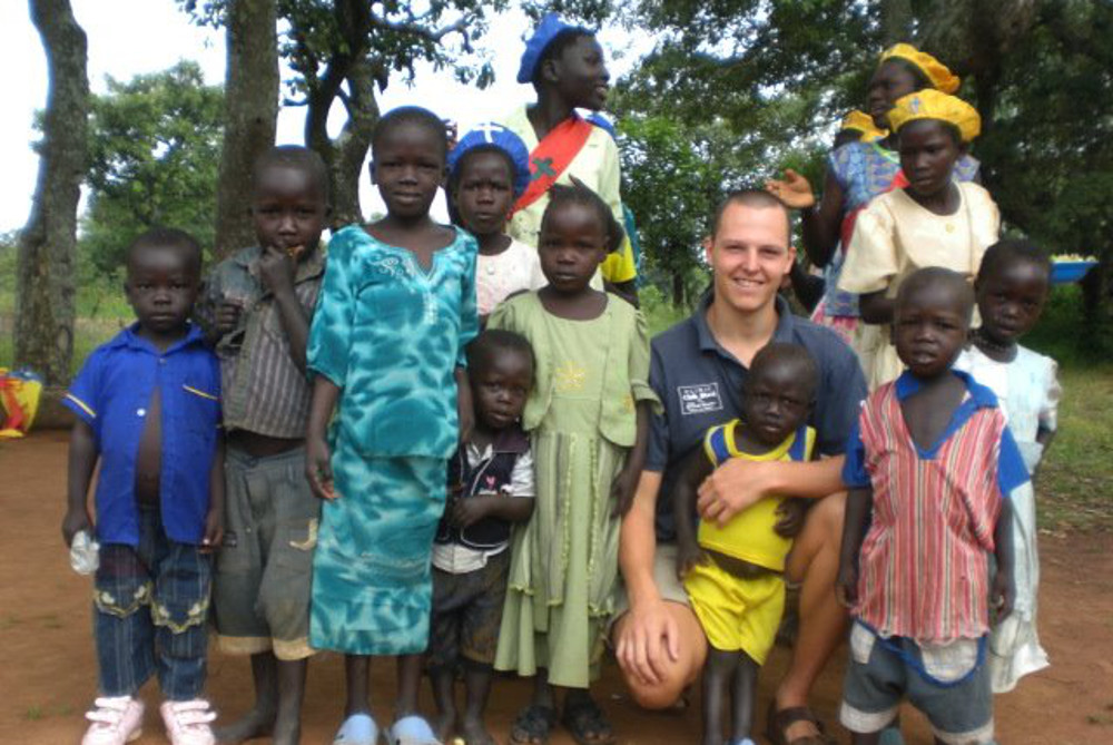 Stefano Trevisan im Südsudan