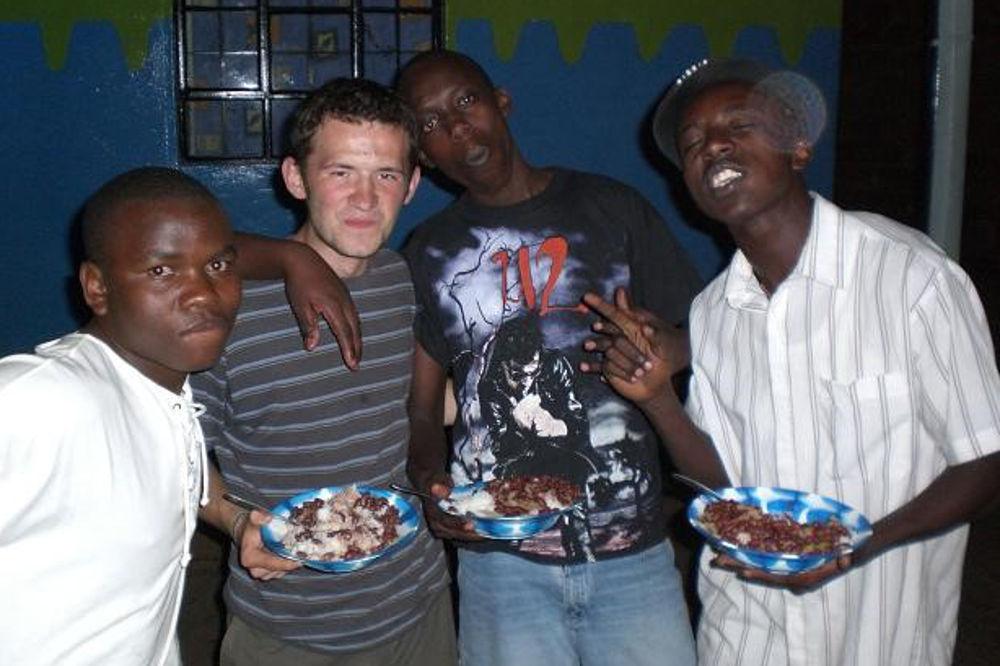 Missionar auf Zeit Thomas Mecha, Kenia