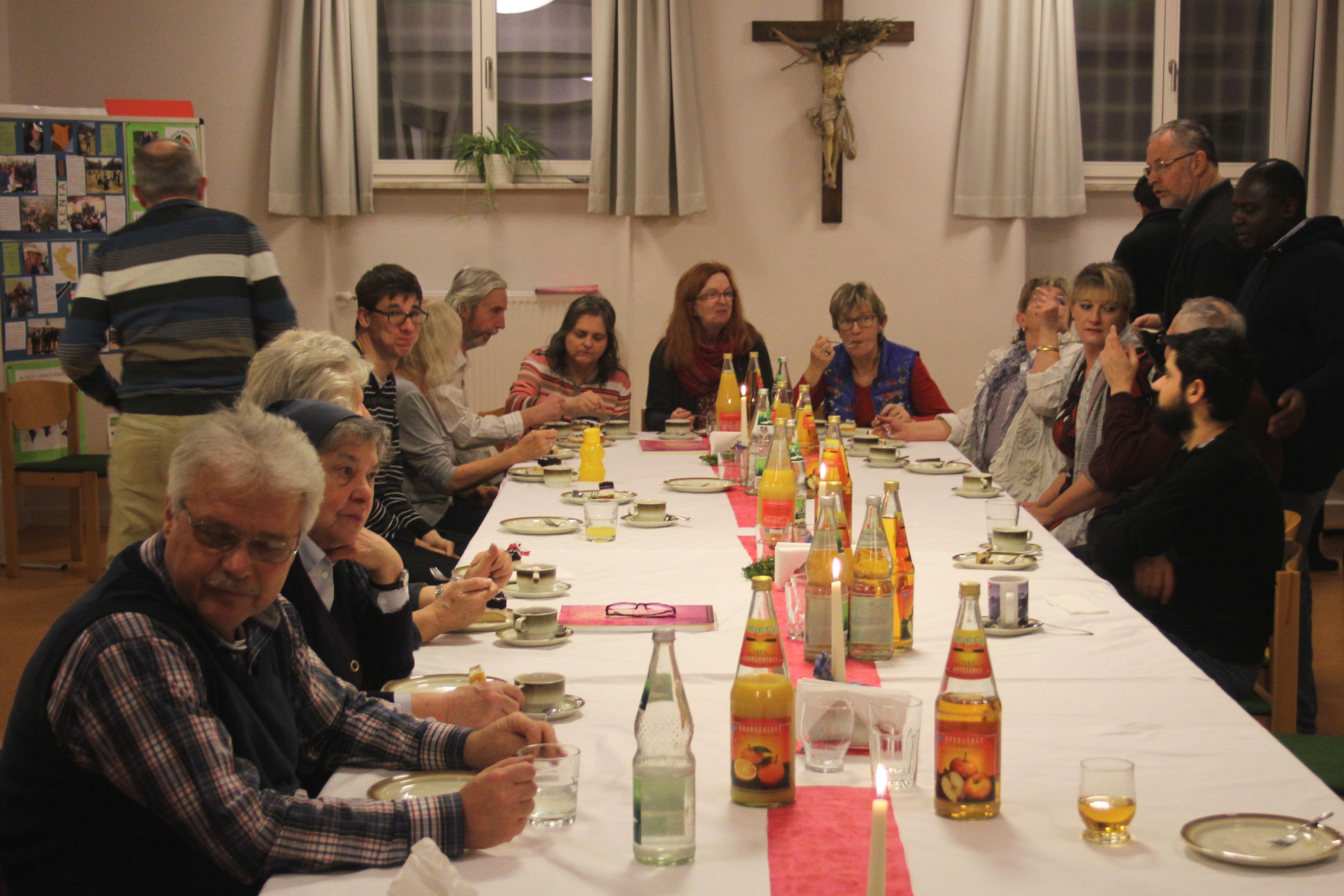 Viele Gäste waren zur Abschiedsfeier gekommen
