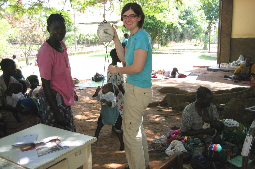 Missionarin auf Zeit (MaZ) Michaela Riffert